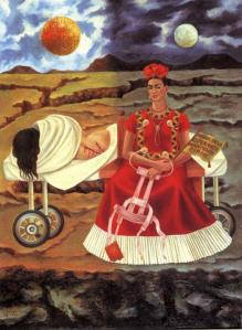 Frida. A woman of exquisite pain.