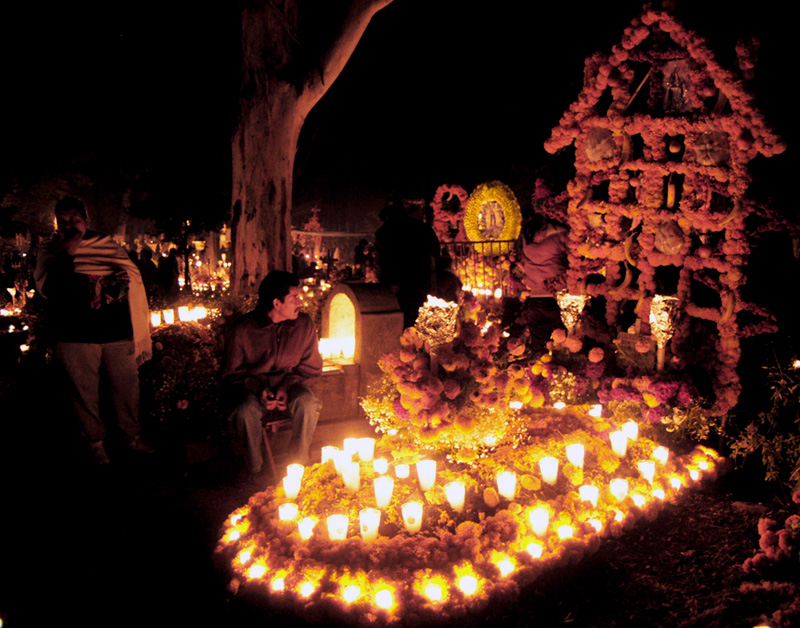 Halloween Town Dia De Los Muertos Sara Dobie Bauer