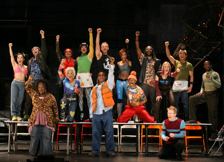 rent the musical costumes. The Rent classic song,