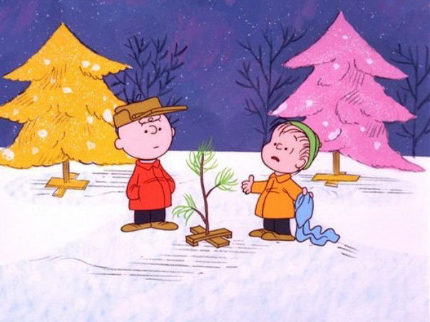"""That's what Christmas is all about, Charlie Brown."""