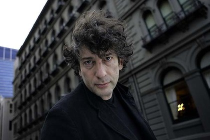 Author Neil Gaiman.