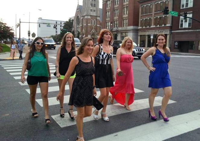 Feelin' flirty and fun on Broadway!