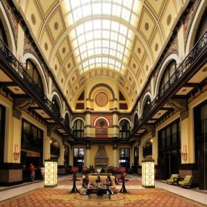 Union Station Hotel lobby.