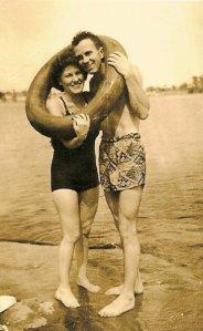 Papa and Grandma Schwind.
