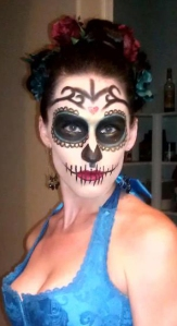 Day of the Dead goth.