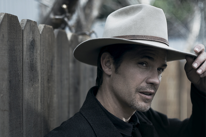 JUSTIFIED: Timothy Olyphant as Raylan Givens. CR: Frank Ockenfels III / FX